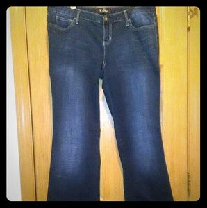 BOGO Guess Nadia Stretch Low-Rise Flare Jeans EUC!